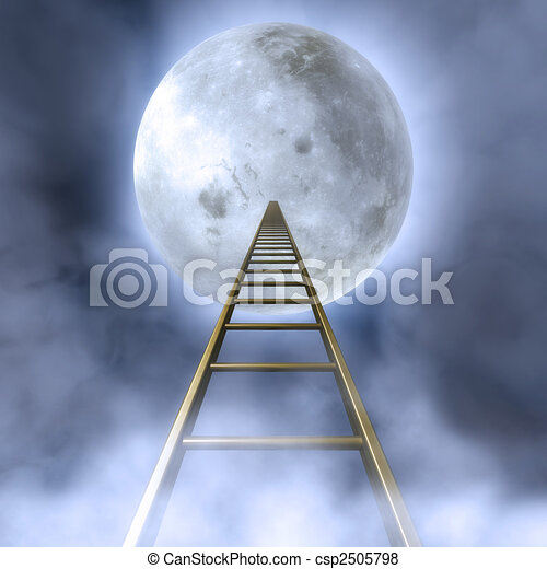 Stairs To The Moon - csp2505798