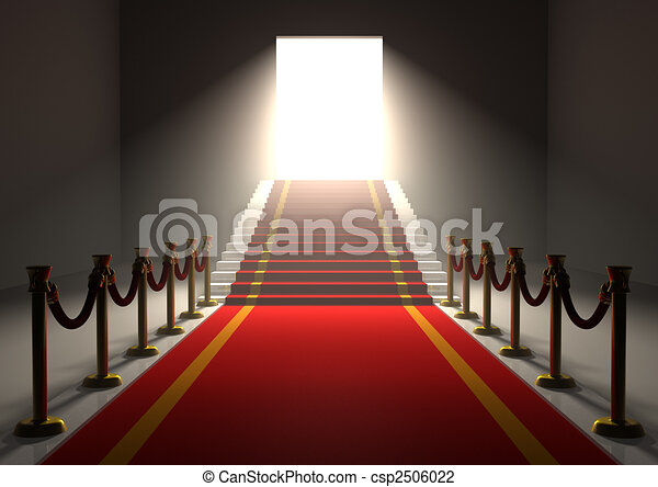 Red Carpet Entrance - csp2506022