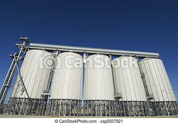 grain silos - csp2507921