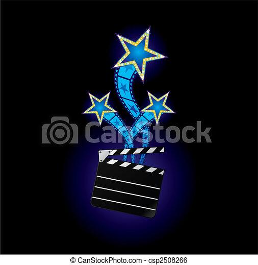 Stars from cinema - csp2508266