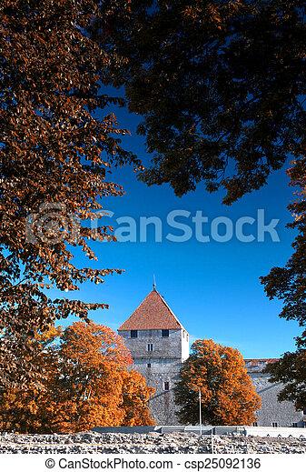 Archivi fotografici di mistico autunno kuressaare for Piani di casa castello medievale