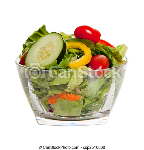 Tossed salad with various vegetables - csp2510060
