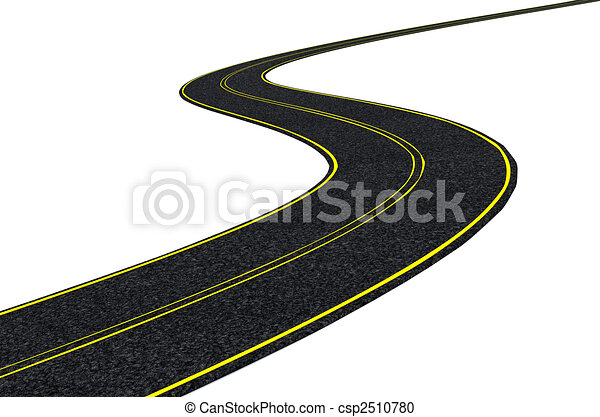 blacktop tarmac road  - csp2510780