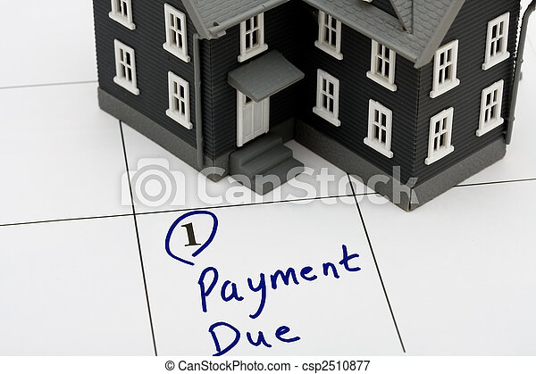Mortgage Payment - csp2510877