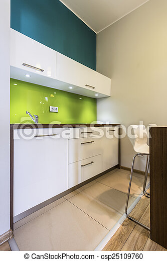 Small kitchen in cozy house - csp25109760