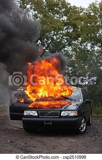 An auto fire - csp2510998
