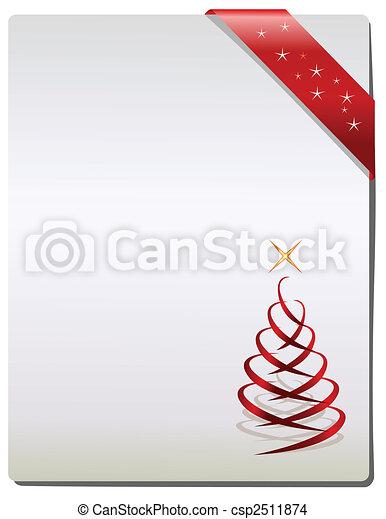Christmas Gift page - csp2511874