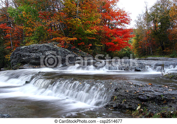 autumn waterfalls - csp2514677