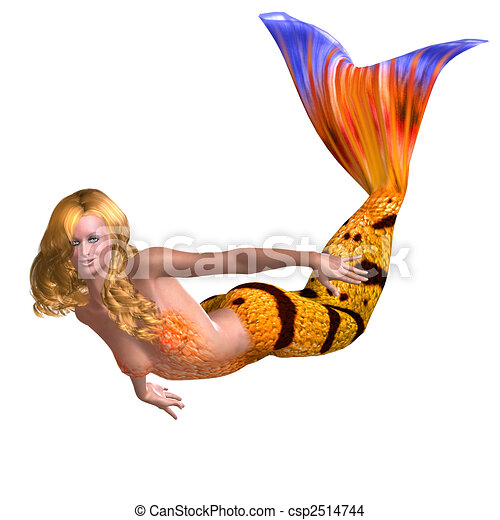 Mermaid Swimming Drawings Drawings of Mermaids Swimming