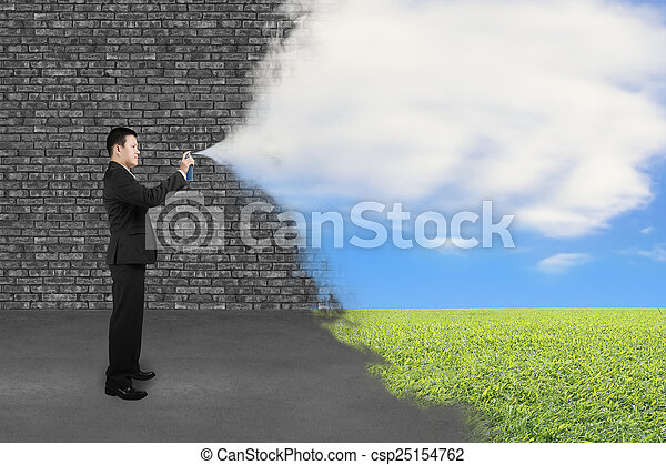 How to Paint Grass And Sky on Wall Clouds Sky Grass Paint