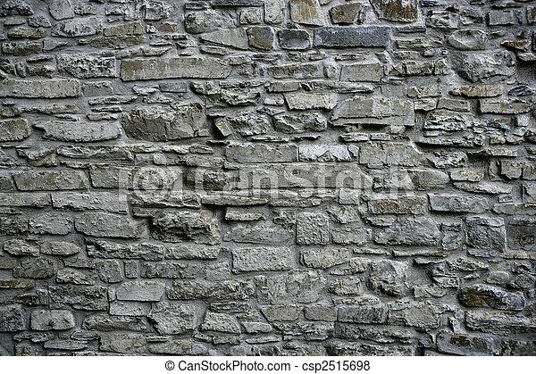 antieke, grunge, oud, Grijs, steen, muur, metselwerk, architectuur ...