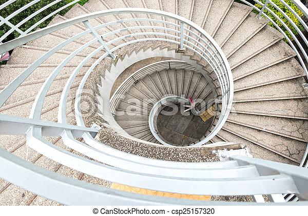 escaleras espiral csp