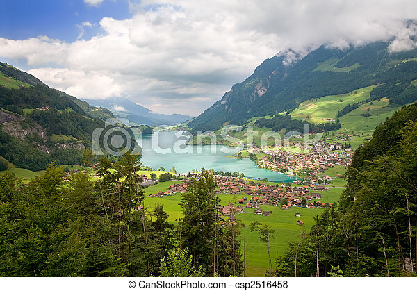 Canton of Fribourg, Switzerland - csp2516458