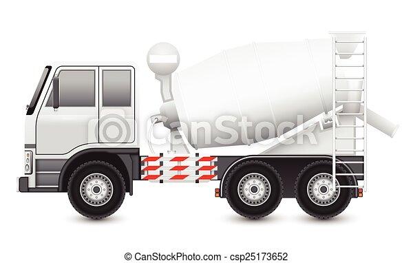 Concrete truck - csp25173652