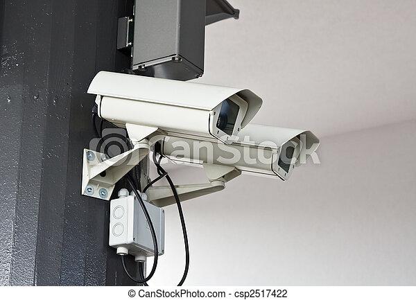 Outdoor surveillance cameras - csp2517422