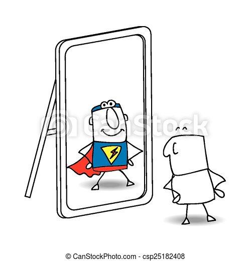 The mirror - csp25182408