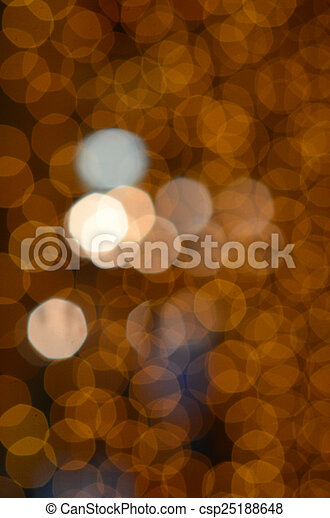 colorful abstract holiday lights - csp25188648