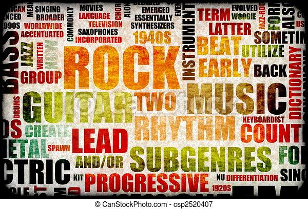 Rock Concert - csp2520407
