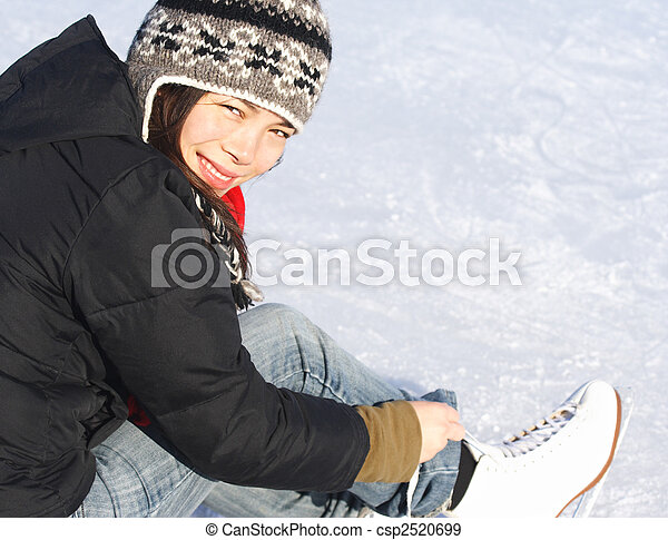 Ice skating - csp2520699