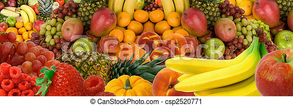 Fruit Panorama - csp2520771