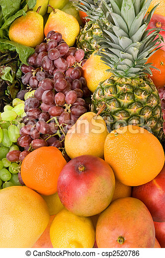 Colorful Fruits - csp2520786