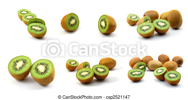 kiwi fruit collection - csp2521147