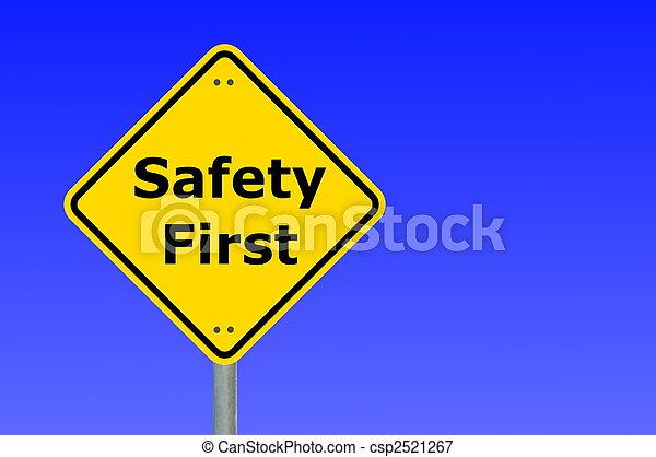 säkerhet, första - csp2521267