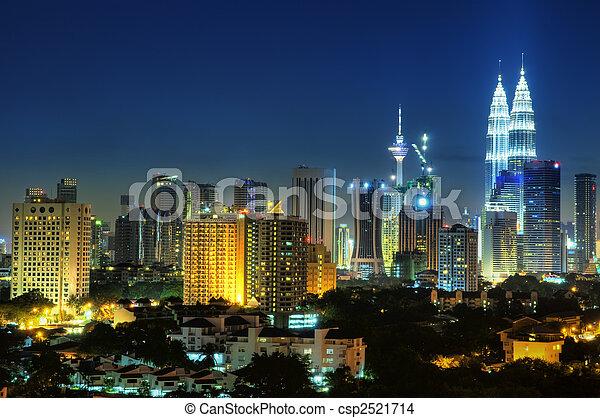 Kuala Lumpur Malaysia. - csp2521714