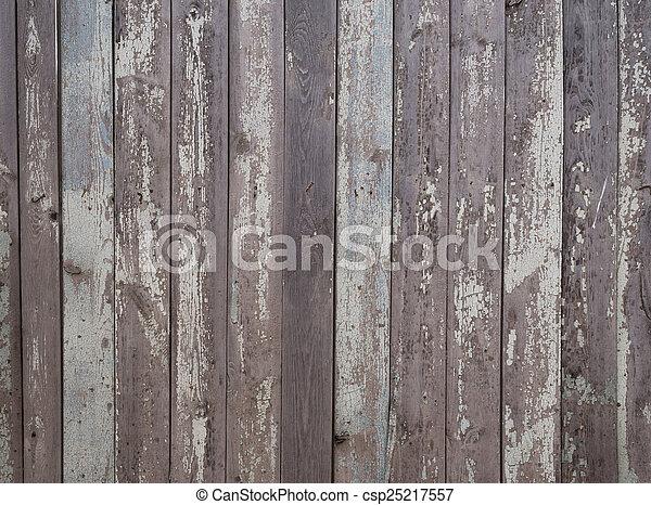Old grunge fence of wood panels
