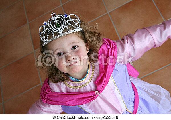 little princess - csp2523546