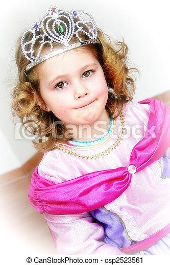 little princess - csp2523561