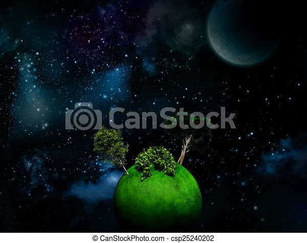 Surreal Space Drawings Surreal Space Background