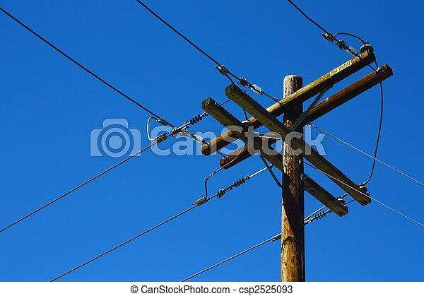 Telephone Pole - csp2525093