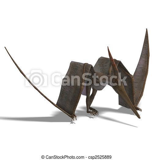 Dinosaur Pteranodon - csp2525889