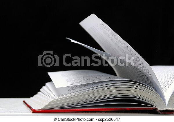 Open book  - csp2526547