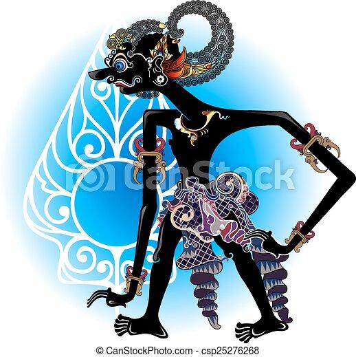 puppets vector - csp25276268
