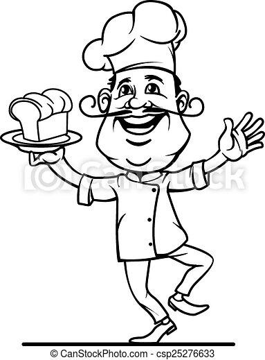 Chef Icon - csp25276633