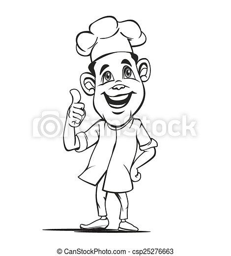 chef outline - csp25276663