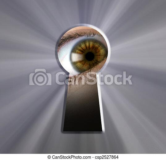 keyhole - csp2527864