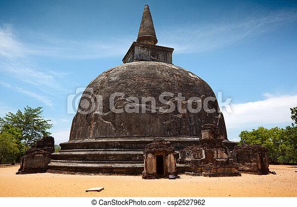 Kiri Vihara - ancient buddhist dagoba (stupa) - csp2527962