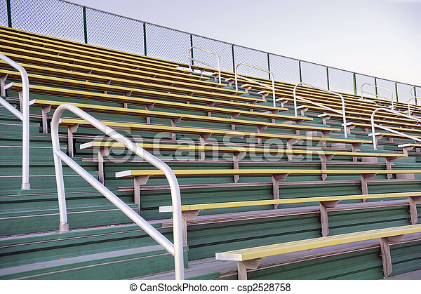 Empty Bleachers - csp2528758