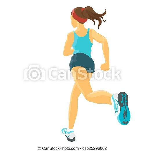 Jogging - csp25296062
