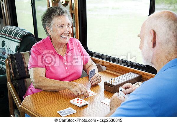 RV Seniors - Game of Cards - csp2530045