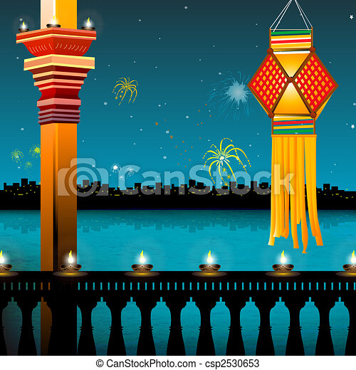 Festival Drawings Diwali Drawings