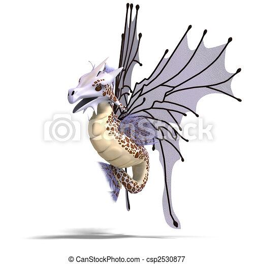 Faerie Fantasy Dragon - csp2530877