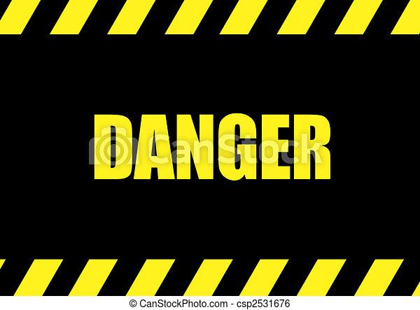 danger - csp2531676