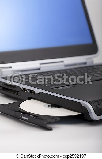 Laptop CD Ejecting - csp2532137
