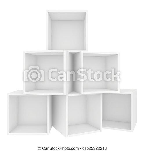 illustration vide tag re 3d render blanc fond banque d 39 illustrations illustrations. Black Bedroom Furniture Sets. Home Design Ideas