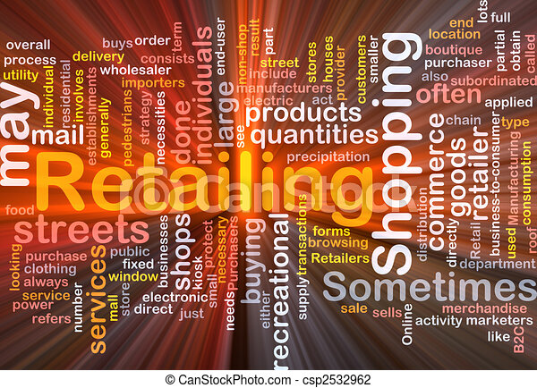 Retailing word cloud box package - csp2532962