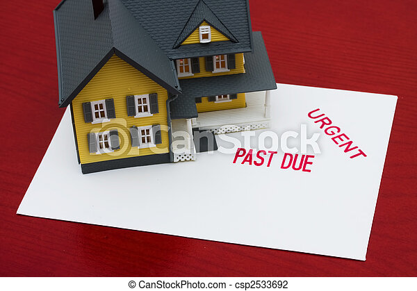 Overdue Mortgage - csp2533692